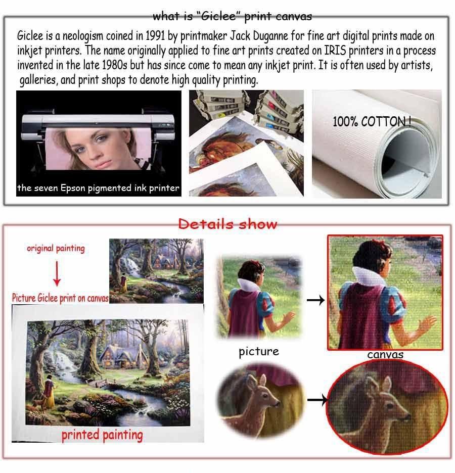 h2021 искусства, hd печатает масляной живописи на холсте пейзаж дома стены украшения на дверь