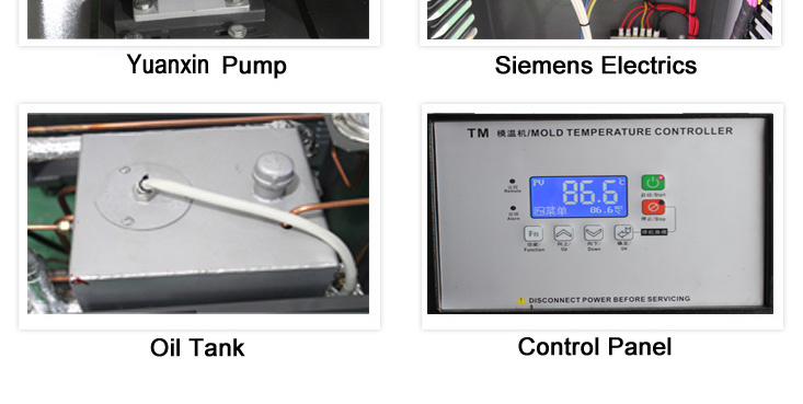 industrial Water/Oil Mold Temperature Controller in Hong Kong