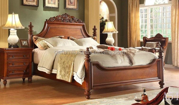 Hermosa Muebles De Dormitorio Estilo Del Viejo Mundo Imagen ...