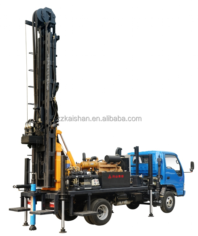 pictures of kw20 crawler water well drilling rig machine