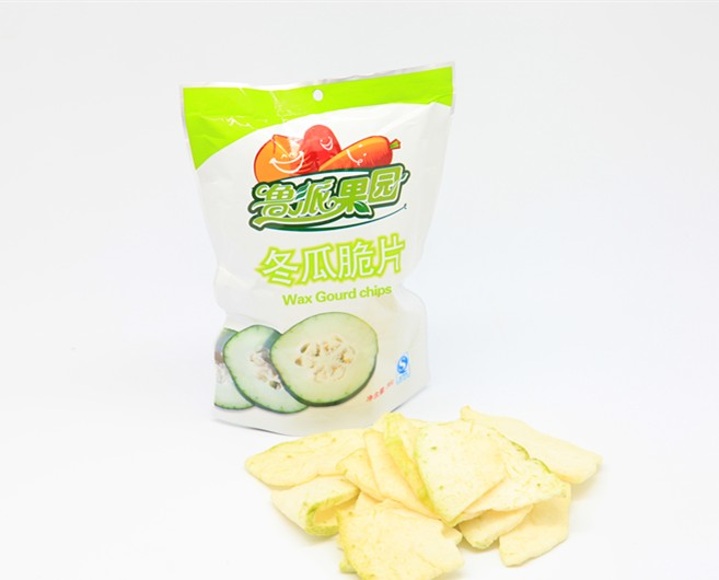 VF Wax Gourd Vegetable Chips Chinese Snacks food