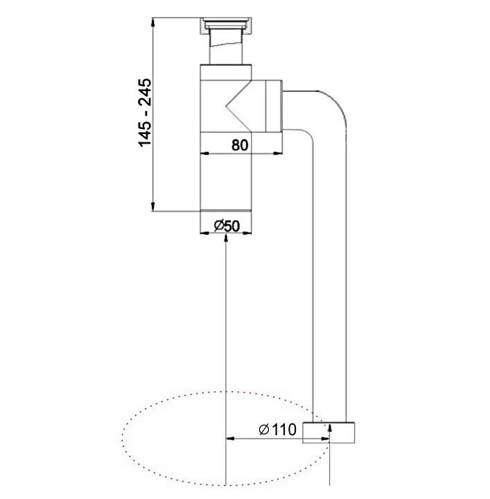 подземный дренаж оборудование бассейна Купер chrome умывальник вертикальную треппинга se445