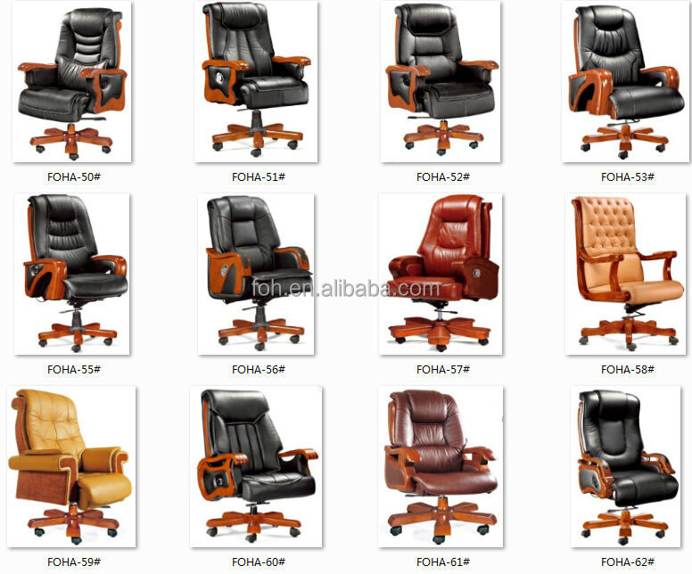large genuine leather executive office desk chair foha 08 buy
