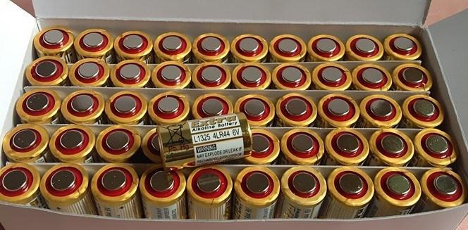 Сухая электрическая батарея Alkaline 50 4LR44 6v , 50pcs/lot
