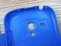 60PCS для samsung galaxy s3mini i8190 8190 оригинальный s вид открытого окна дело флип кожаный задняя крышка случаях батарея корпус чехол