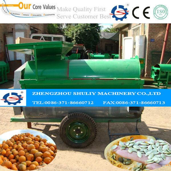 pumpkin harvester machine