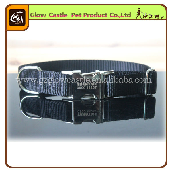 2014 NEW Metal Engraved Personalized Dog Collar (2).jpg