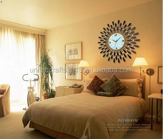 neupreis hei verkauf metal gro e dekorative wanduhr. Black Bedroom Furniture Sets. Home Design Ideas