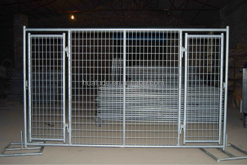 how to build a gate for a wire mesh fence