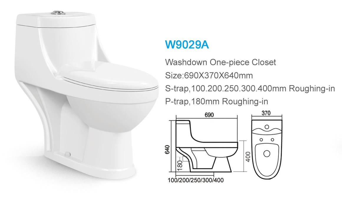 Washdown China Products One Piece Bathroom India Big