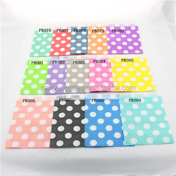 Polka Dot Party Favor Bags 07