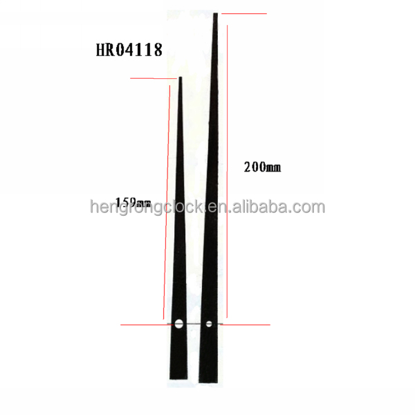 2014 New Large Clock Hands For 1m Clock Extra Long Clock