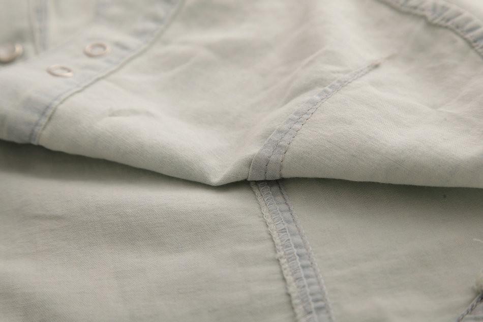 Женская джинсовая одежда Qeny 1132 Camisas Femininas M, l