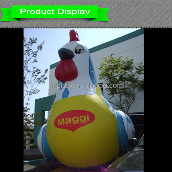 Custom inflatable chicken/giant inflatable rooster