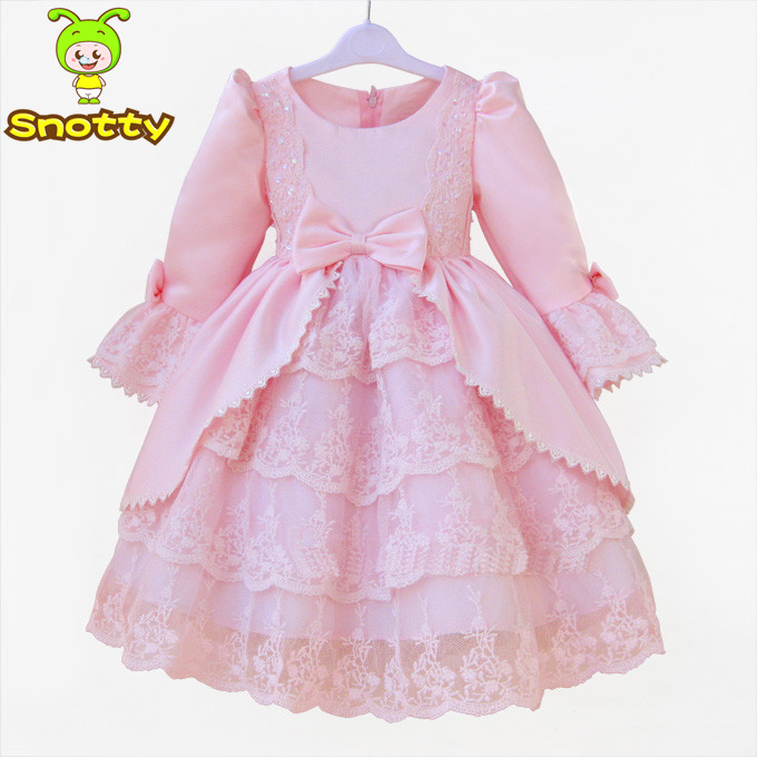 Wholesale Formal Dress Patterns For Girls Pink Western Dance Dress Awesome Children's Clothing Patterns