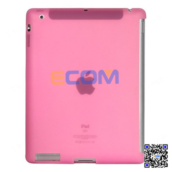 2014 new design silicone back cover for ipad 2 3 4