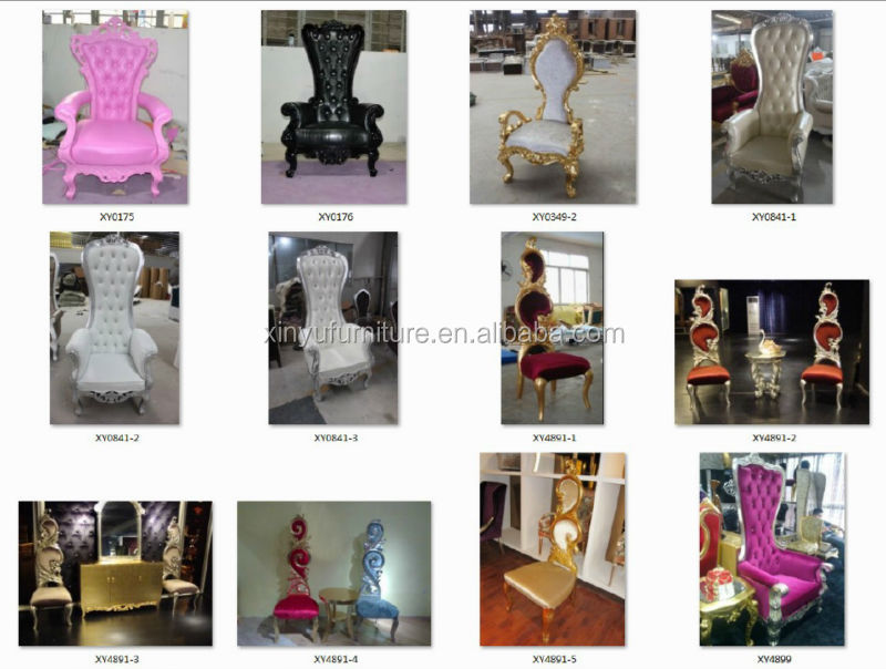 Neo Classic Wedding Royal King Throne Chair For Sale XY4901 1 View King Thro