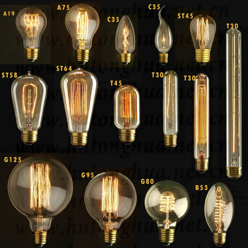 Vintage Globes Decoration Carbon Filament Bulbs Antique Style Light Bulbs Buy Vintage Globes