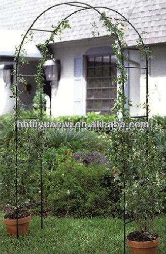 alta calidad decorativa planta de hierro jardn arco diseoprgola de hierro