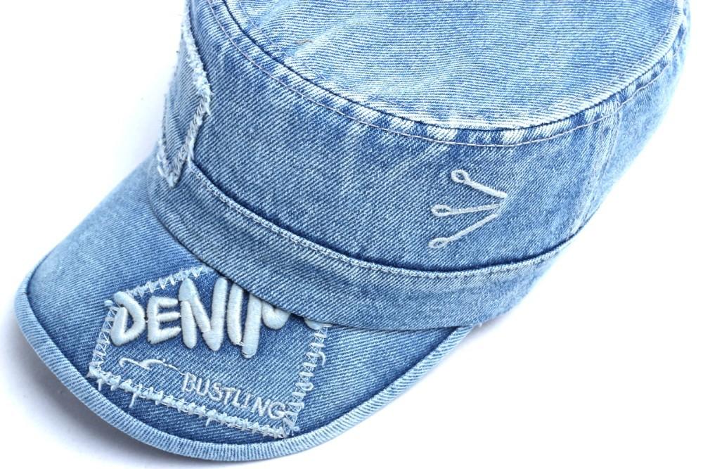 Новая мода письмо унисекс женщин мужчины лето Весна джинсы козырек гольф регулируемые таксист бейсбол Кап шляпа
