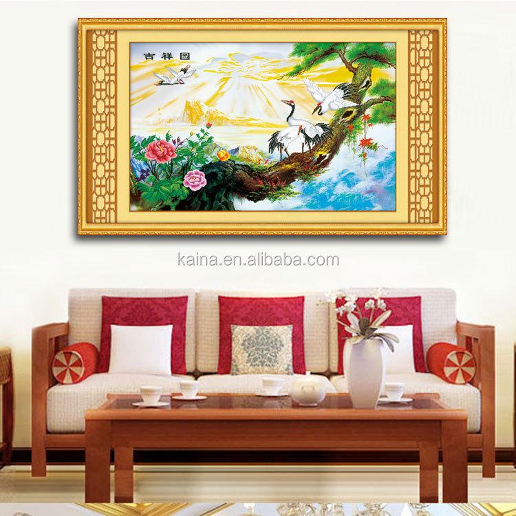 Abstract Ganesha Glass Paintings Lucky Ganesha Glass Painting