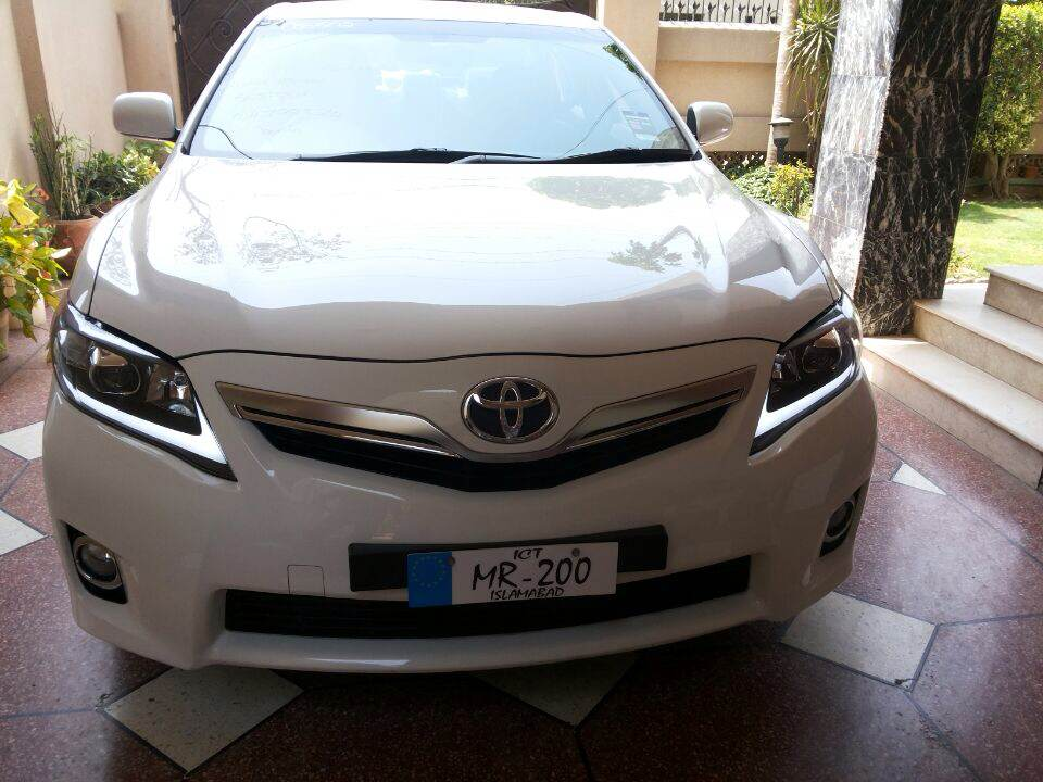 toyota camry 2007 2011 angel eye led head light lamp modified head light iso. Black Bedroom Furniture Sets. Home Design Ideas