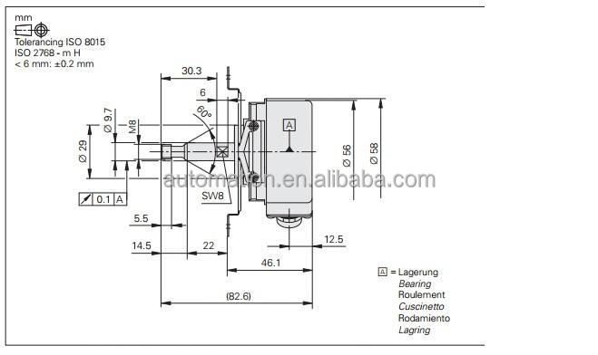 1xp8001-2  1024 encoder 1xp8001 siemens rotary encoder