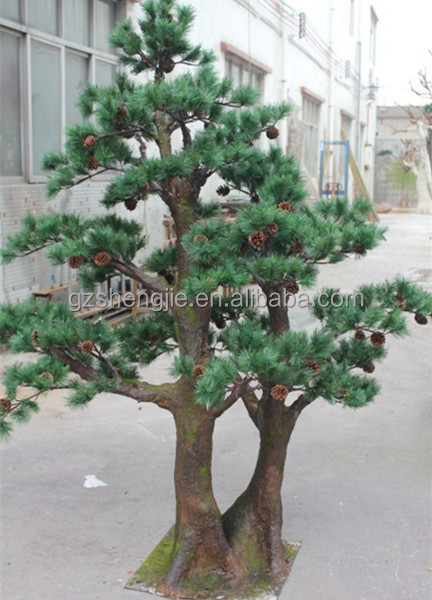 Small decorative pine trees landscaping pine trees guangzhou artificial tree buy indoor - Decorative small trees for landscaping ...