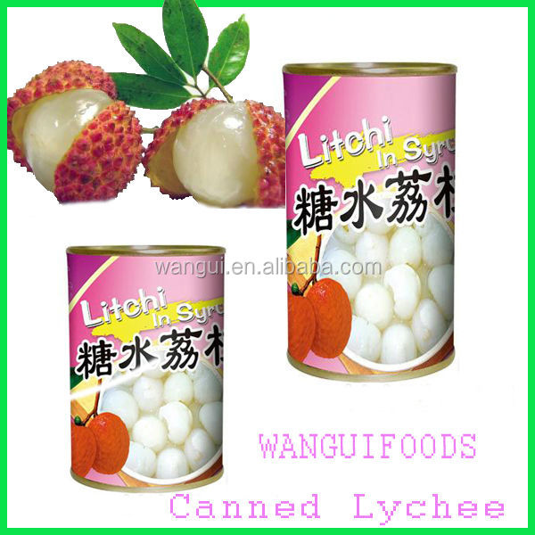 Canned Lichee Fruits Price For Supermarkets