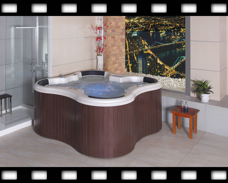 tokyo japan massage hot sex massage hot tub bath with wood skirt HS-197Y