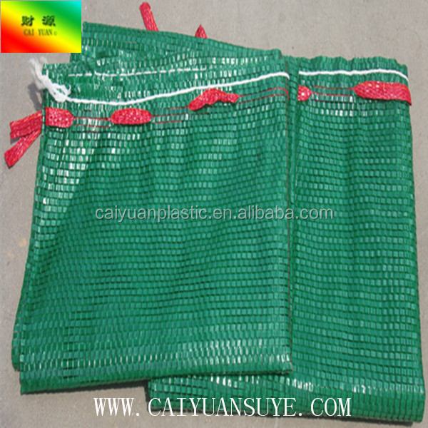 PE hot sale raschel vegetable bag for fruits potato onion garlic