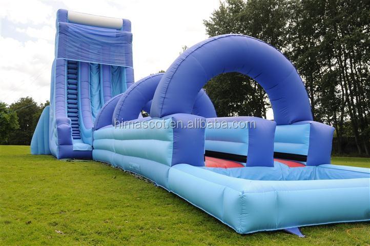 HI EN14960 maior inflável escorregas de água china fábrica