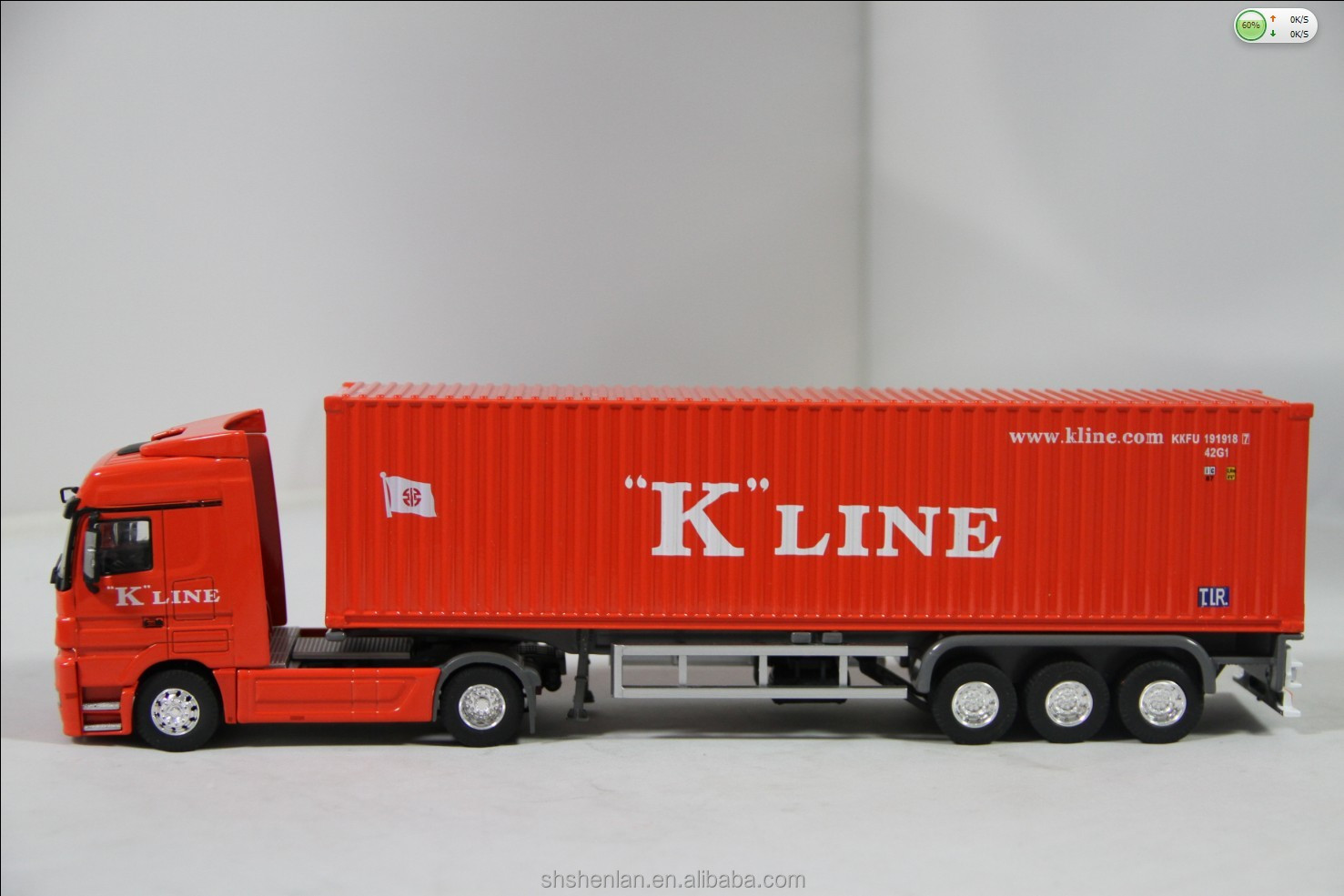 1 50 Scale Metal Container Truck Die Cast Toy Truck Buy
