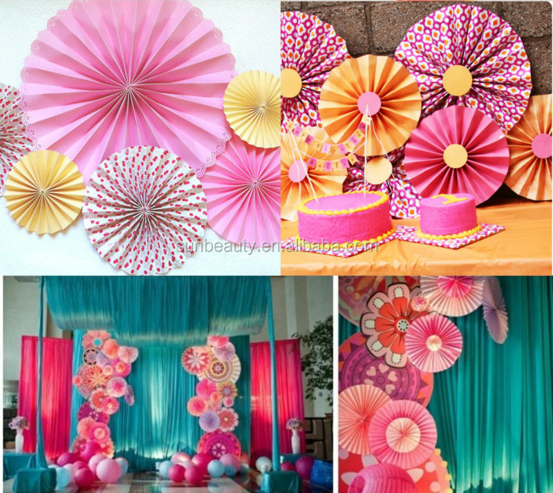 Wedding varmala garlands pompom garland arts and crafts for Arts and crafts decoration