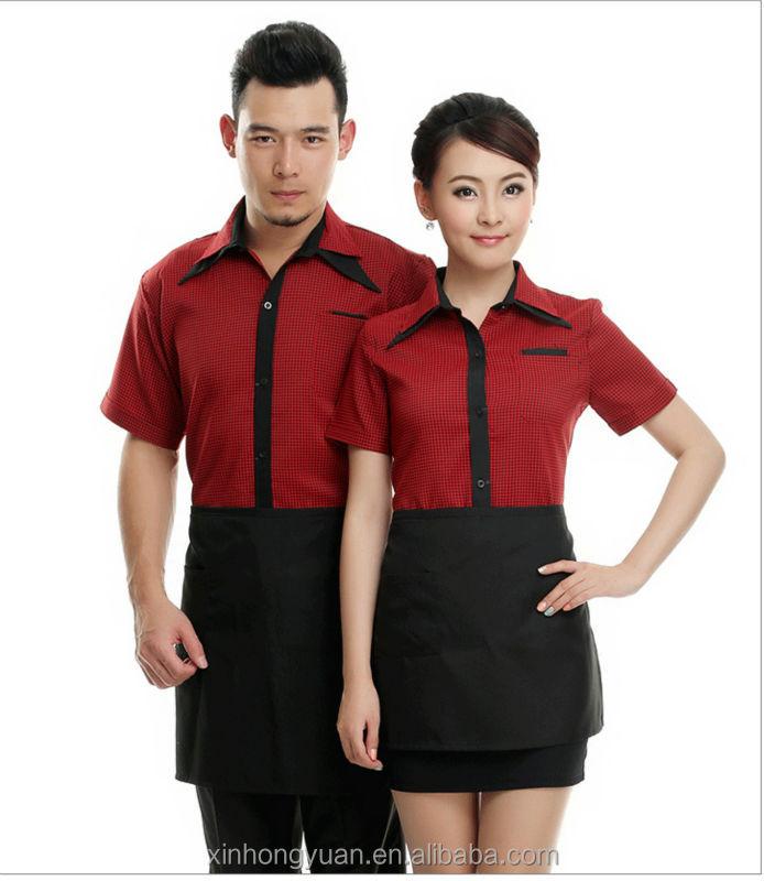 Restaurant waiter uniform designs view