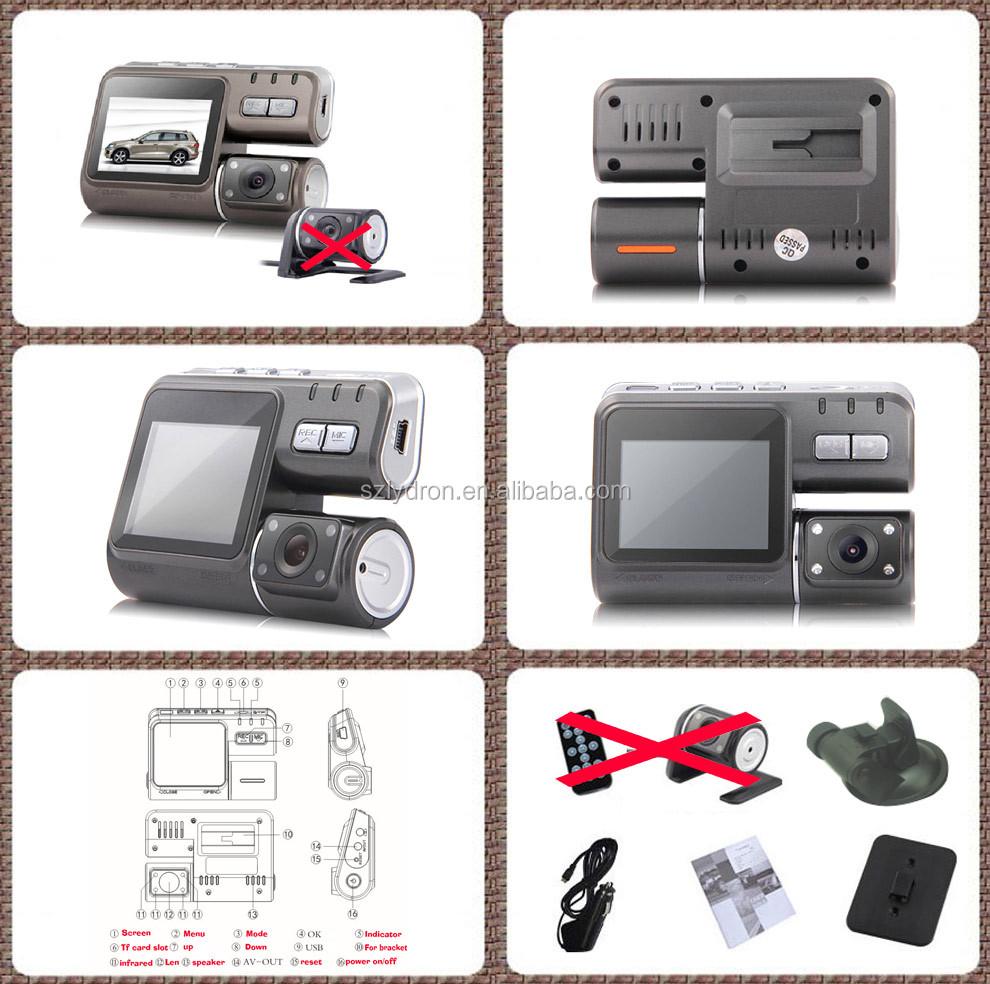 Hottest HD 720 P caméra Dashcam voiture i1000