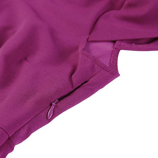 Весна лето государств Европы с большой звезды v-образным вырезом платье моды вечернее платье миди bodycon повязку платье фиолетовый