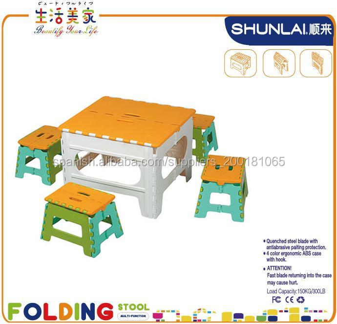 Mesas para nias muebles infantiles sillas y mesas para nios tienda de mobiliario infantil - Mesa infantil plegable ...