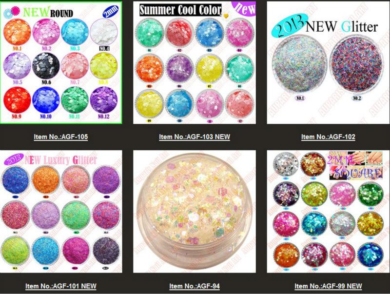 Acrylic Nail Glitter Flakes/new Arrival Nail Metal Flake Glitter ...