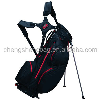 New design fashion Nylon golf stand bag light