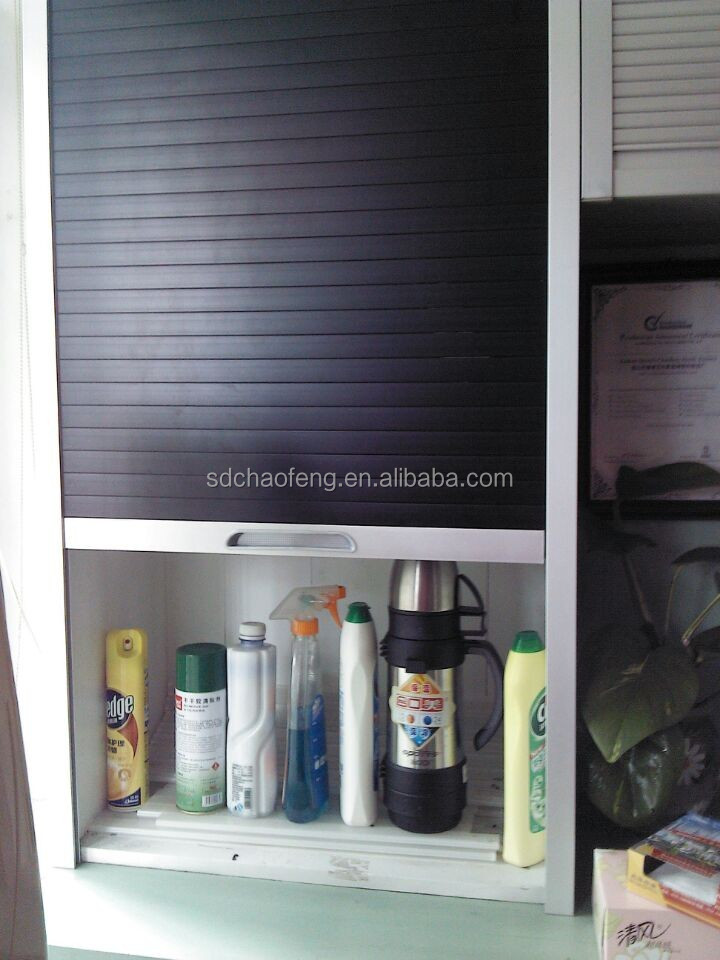 High quality kitchen cabinet with roller shutter door for for Küchenschr nke roller