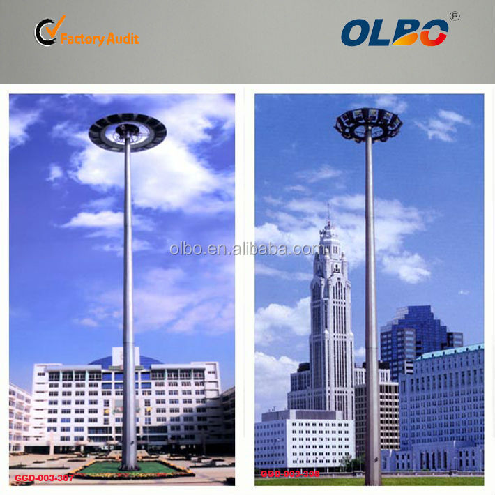 High Mast Lamp Take With Lifter And Elevating System