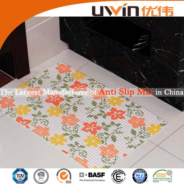 Pvc espanso stampato pavimento disegno floreale casa moquette del ...