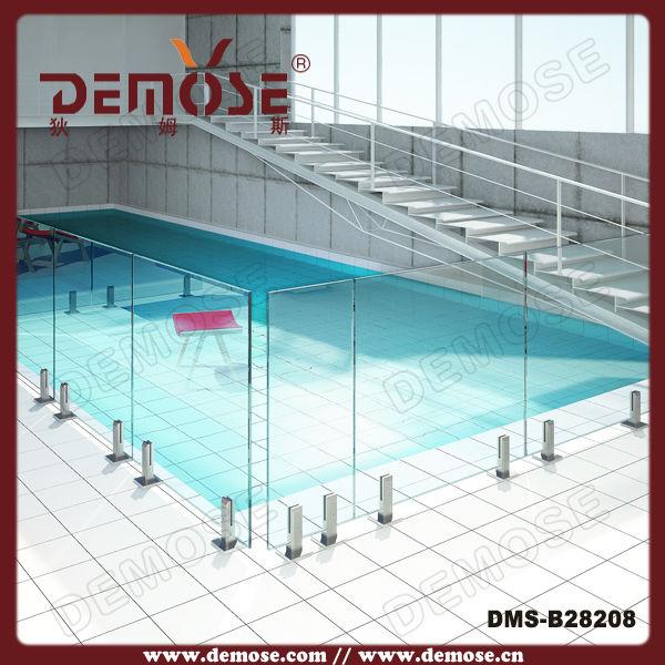 Pre o barato pain is de veda o em vidro temperado for Material piscina barato