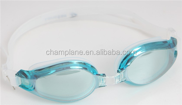 2014 adults mirrored swimming goggles with electroplated len L021229-00