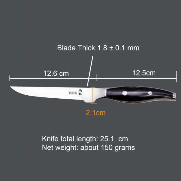 The Edge Fine & Sharp Kitchen Knives For Boning Knife