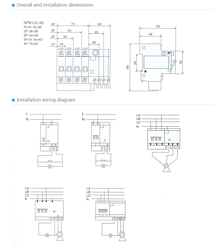 Rcbo residual current circuit breaker 16a elcb rccb spm1le 63 4p 3g swarovskicordoba Gallery