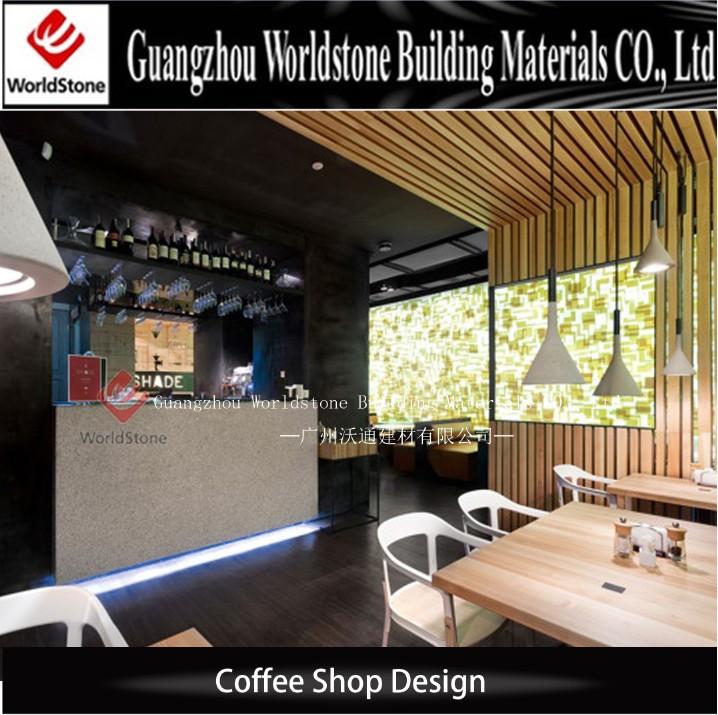 Beauty Bar Counter Coffee Shop Interiors Design Cafe