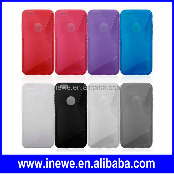 New For iPhone 6 S line Soft TPU Case