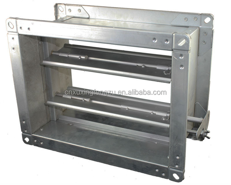Hvac Ducting Manual Motorized Control Adjustable Air Duct